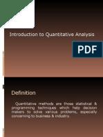 QA(unit-I)