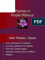 Purple Hibiscus Chapter Notes  Prayer  Religion And Belief Themes In Purple Hibiscus