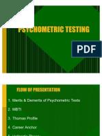 3 Psycho Metric Tests