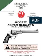 Ruger Super Redhawk Manual