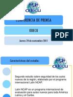Presentacin Estudio Odecu Automviles
