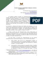 SistemaMundial EstadoNacional e IdentidadesIdigenas