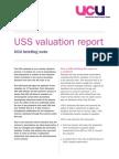 UCU Briefing on USS Pensions