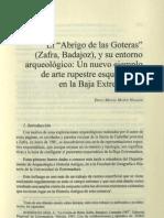 Pinturas Rupestres Abrigo Goteras (Zafra-Extremadura) (Diego Muñoz Hidalgo)