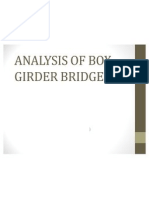 Analysis of Box Girder Bridge Presentation