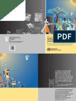 Estudio Internacional de La OMS Sobre La Salud de La Mujer y Violencia Domestica.