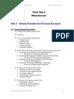Bab 2 Sistem Ekonomi Dan Peranan Kerajaan