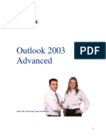 Advanced Outlook 2003