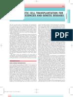 Hematopoietic Cell Transplantation for