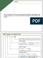 ABAP Programming Standards v1 1