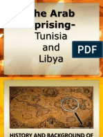 Arab Spring-Libya and Tunisia