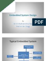 Embedded System Design-Presentation