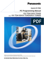 PC Programming Manual