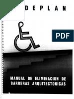 Manual de Eliminacion de Barreras Arquitectonicas