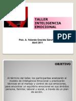 Taller Inteligencia Emocional