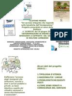 Servizio Telefono Mondo - Risultati  anno 2010/2011