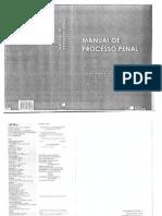Fernando da Costa Tourinho Filho. Manual de Processol Penal - Capítulos 59 a 65 (Dos Recursos) (2009)