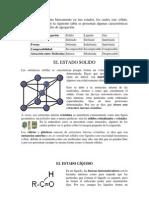 1.1. Materia Estructura, composición, estados de agregación y clasificación por propiedades