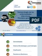 Farmacología de las enfermedades infecciosas Principios generales