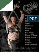 GothlaUK 2012 Flyer
