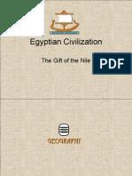 الحضارة المصرية هبة النيل