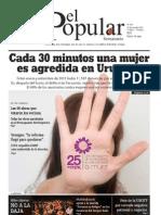 El Popular N° 166 - 25/11/2011