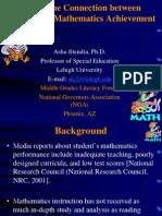 AGT Contoh Kajian Maths Achievement