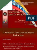 Taller Recorrido de La Espada de Bolivar -II MODULO