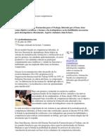 Certificación y formación por competencias