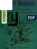Robert Morrison the Pioneer of Chinese Mission_Townsend