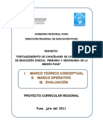 PCR Resumen 2011 DRE Puno Peru