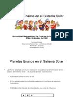 UMCE Planetas Enanos Chile
