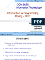 Lec14-Structures C++ CIIT