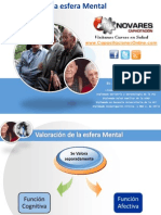Evaluación del estado mental en el Adulto Mayor
