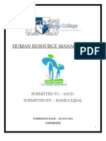 HRM Assignment Hum