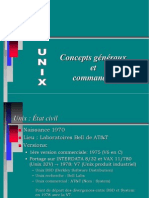Concepts Unix 5