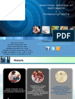 Farmacología Reacciones Adversas a los Medicamentos 2007