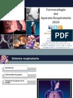 Farmacología Respiratoria  RCF 1SE 2010