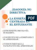 Pedagogia No Directiva Sesion 3 y 4