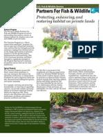Alaska; Partners For Fish & Wildlife Building Rain Gardens