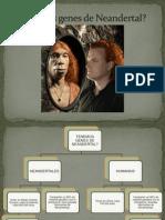 Mapa Conceptual Neandertales