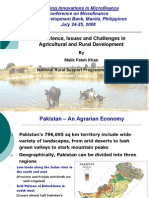 Malik Khan - Experience and Challenges in Agricultural and Rural Development-Revised