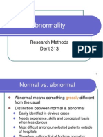 lecture 7 (slide) Abnormality