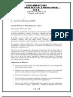 BB0018-Human Resource Management-Set 1