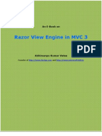 Razor View Engine in MVC 3