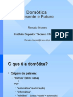 Dia2 Prof Renato Nunes Domotica