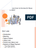 Labour Cost and Systems of Wage Payment Ppt.