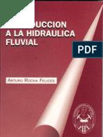 Introducción a la Hidráulica Fluvial - ARTURO ROCHA FELICES