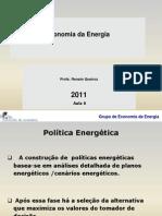 Economia Da Energia 2011 Aula 6 21 Nov p Alunos