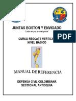 Manual de Rescate Vertical -Rescate en Alturas 2011